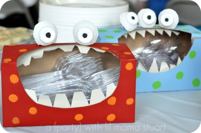 monster tissue box
