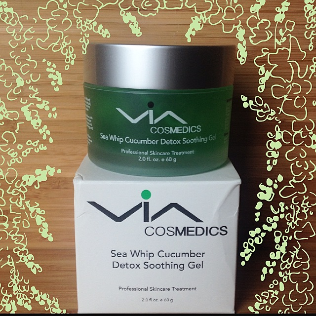 cucumber detox gel- via cosmedics