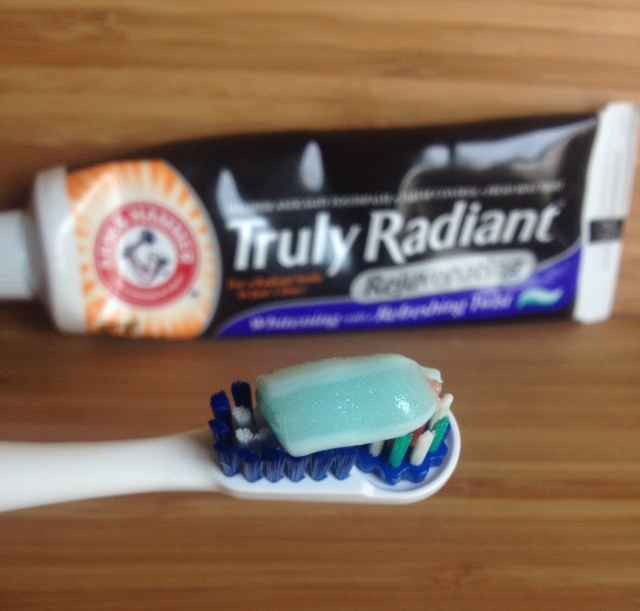 truly radiant toothpaste