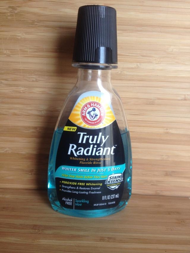 truly radiant mouthwash