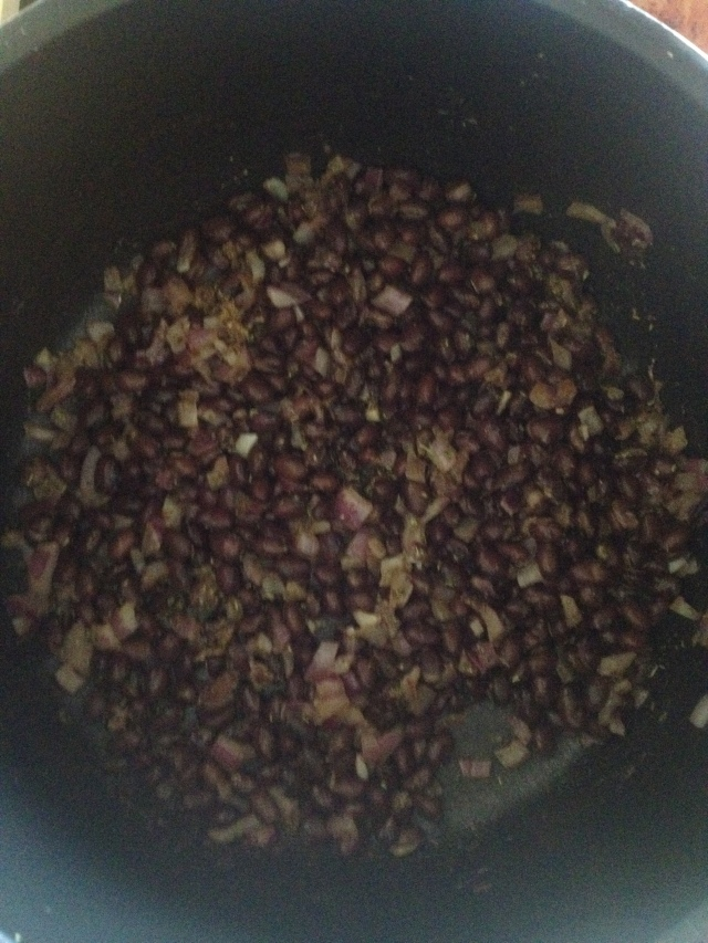 hello fresh black bean mixture