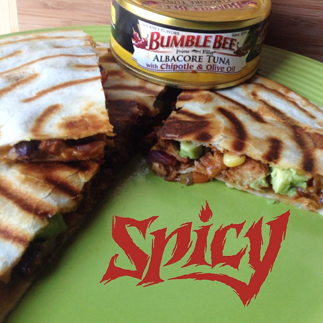 Bumble Bee Chipotle & Olive oil quesadilla