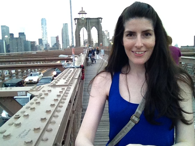 On Brooklyn Bridge Selfie Stick