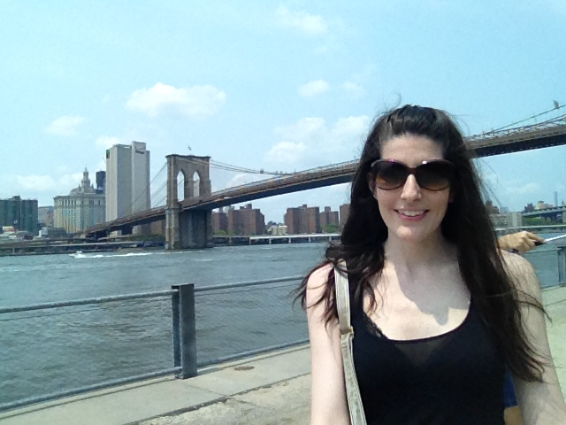 Brooklyn Bridge Selfie Stick