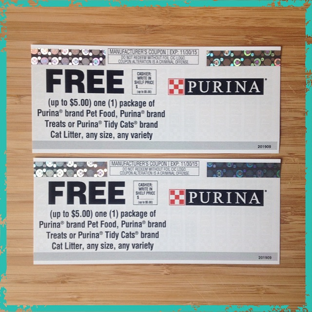 Purina Win coupons