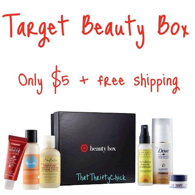 Target beauty Box