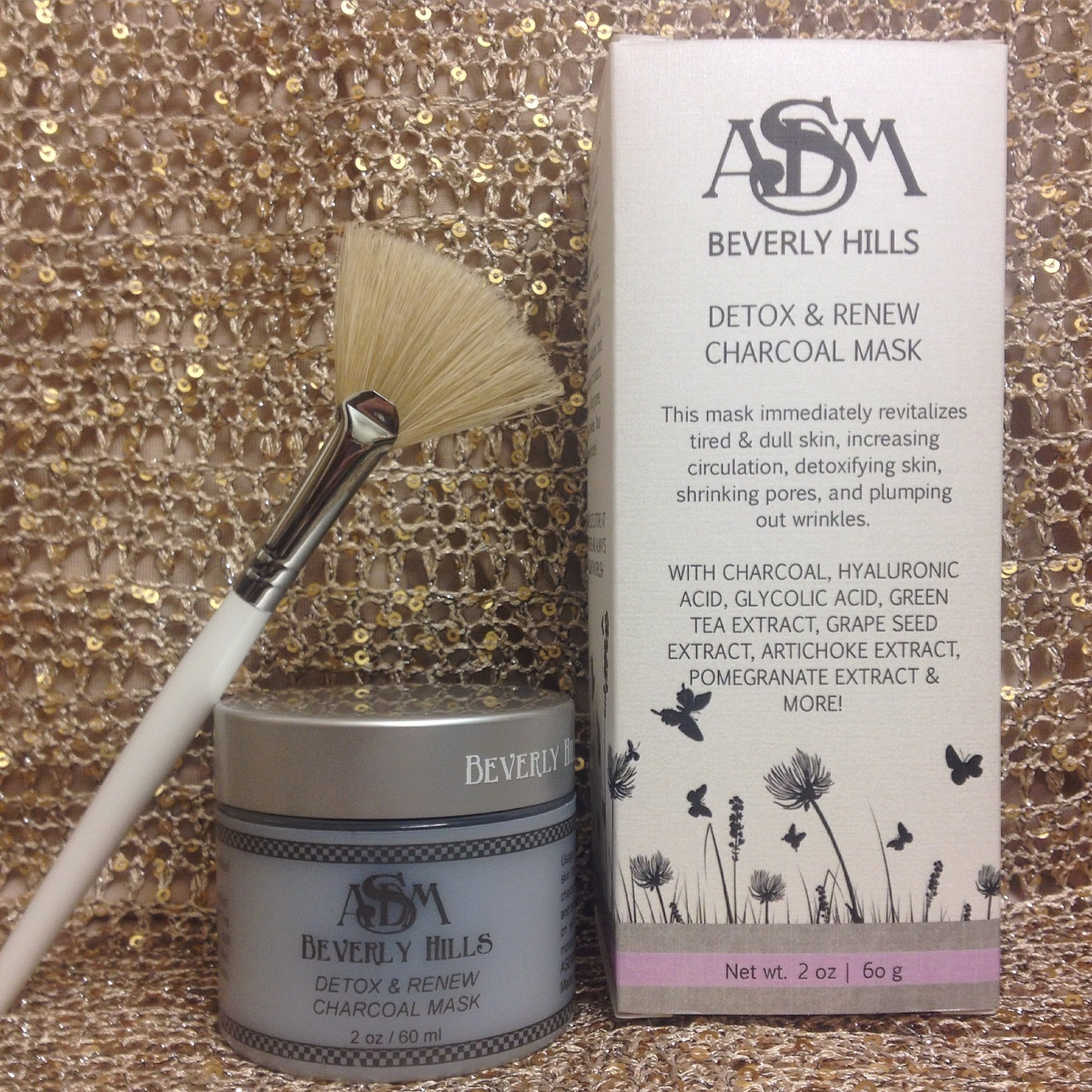 Detox Your Skin With This Diy Charcoal Mask: ASDM Beverly Hills Detox & Renew Charcoal Mask Review