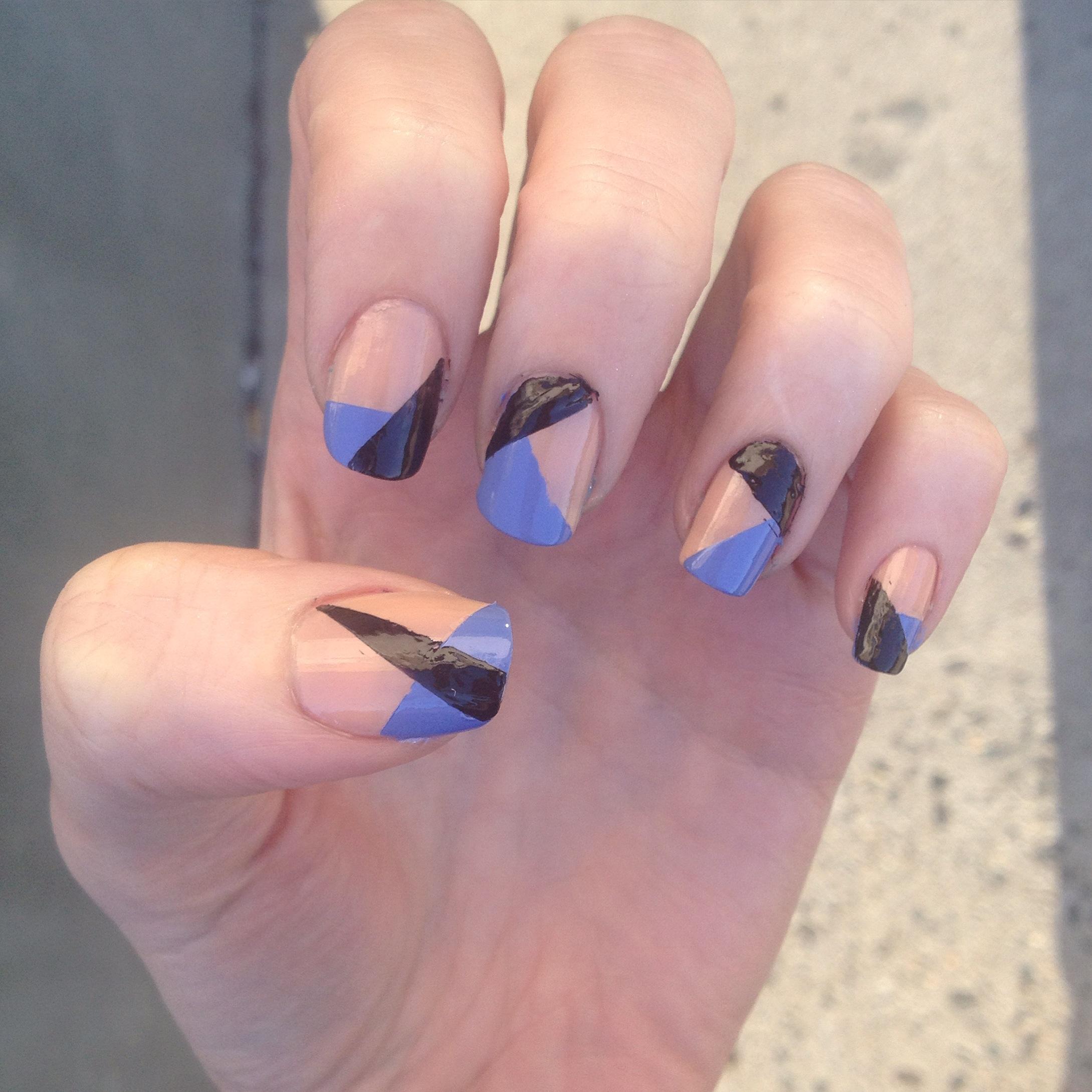 how to make nail polish look matte