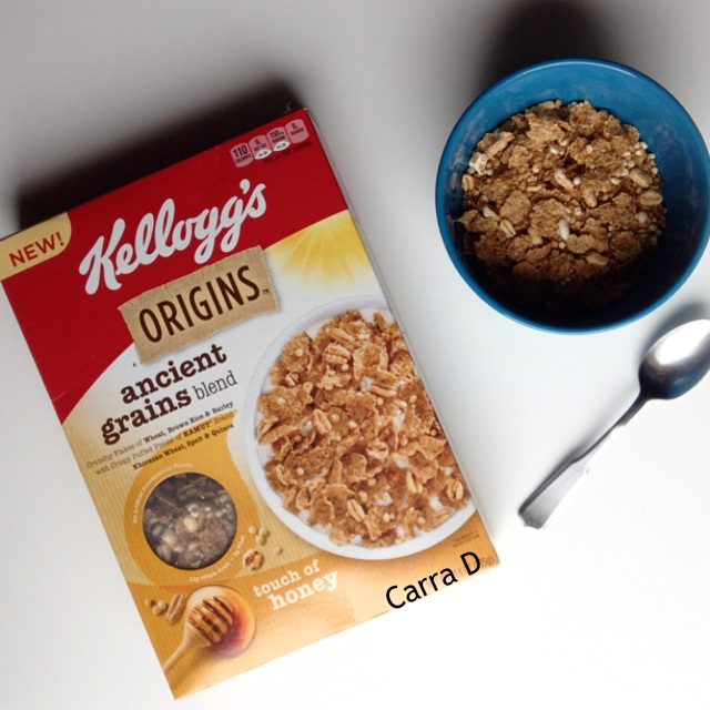 Kelloggs Origins touch of honey cereal