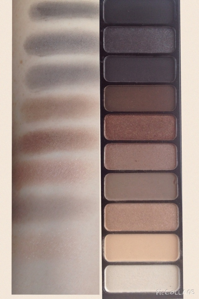 Smoky Eye Palette Swatches Elf Cosmetics
