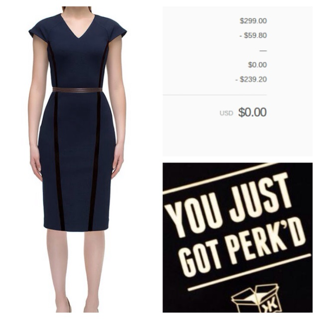 Klout Perk Lattori dress
