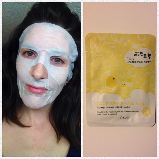 Egg Essence Mask