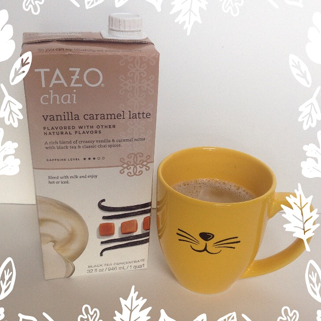 Tazo Chai Vanilla Caramel Latte