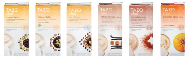 Tazo Chai Latte