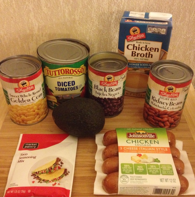 Taco Soup Ingredients