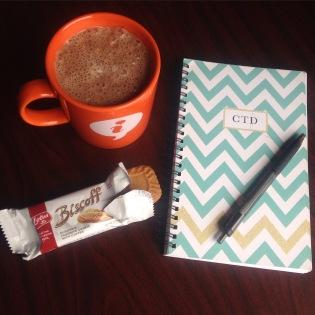 Biscoffs Cookies & Hot Chocolate