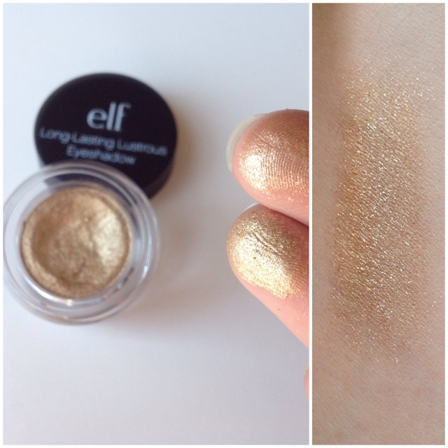 Elf Long lasting eyeshadow toasted