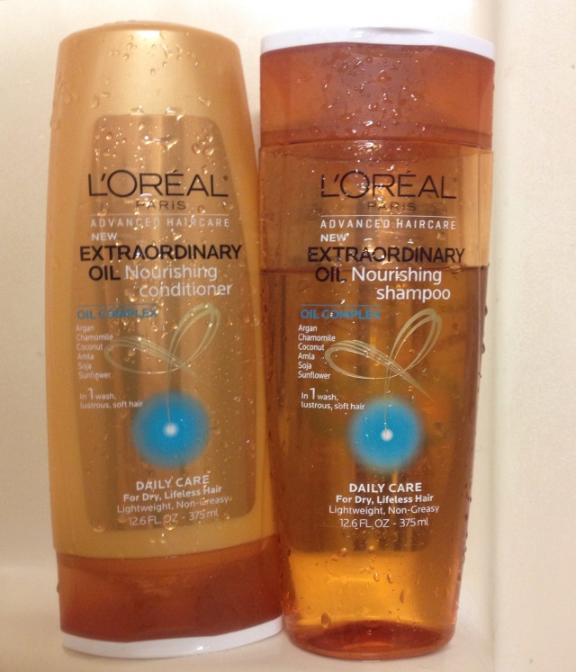 L'oreal Nourishing Oil Shampoo & COnditioner