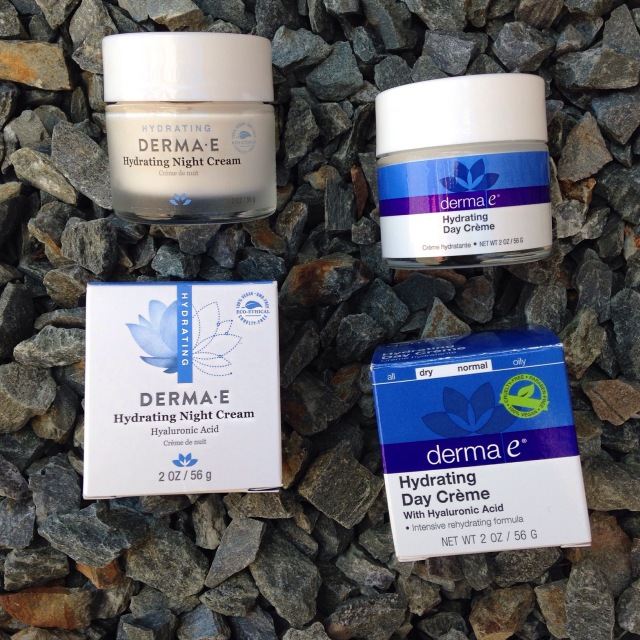 Derma E new & old packaging