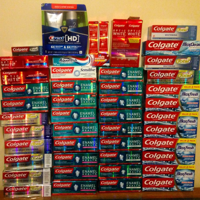 couponing toothpaste