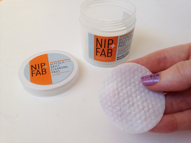 Nip + Fab Glycolic pads