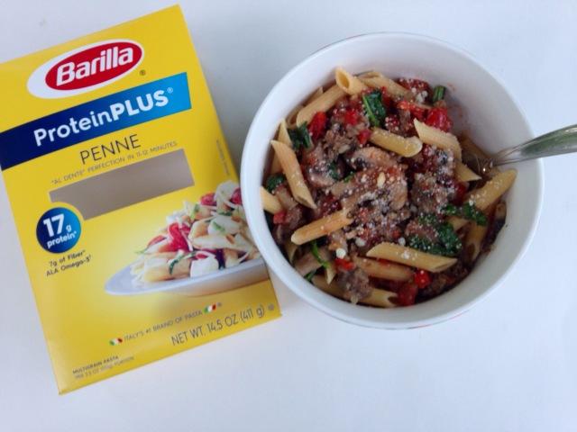 Barilla ProteinPLUS sausage & tomato veggie sauce