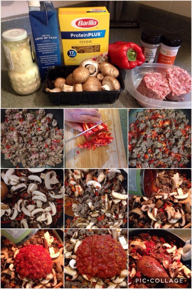 Barilla Protein Plus sausage & tomato veggie sauce