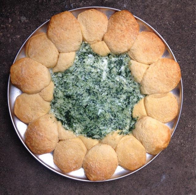 Baked Biscuit Dip