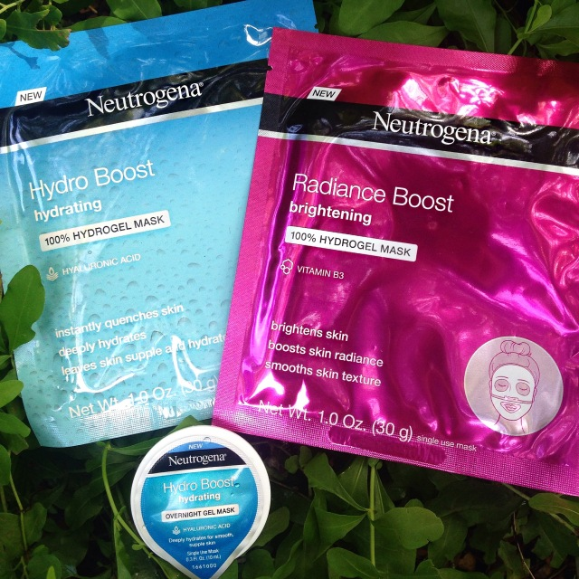 Neutrogena hydrogel masks